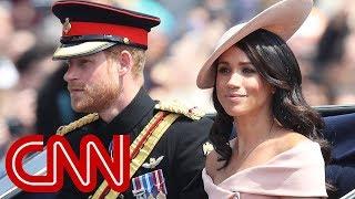 Meghan Markle makes Buckingham Palace balcony debut
