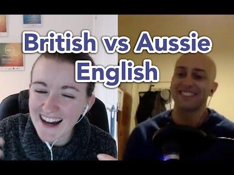 British vs Aussie English