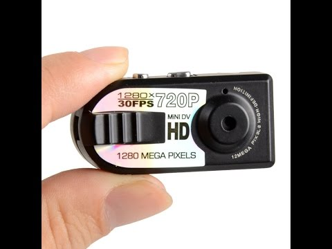 The Q5 Mini DV HD Spy Camera Instructions And Review