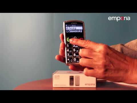 emporia Telecom - Jak na mobil: Nastavení datumu a času (5)
