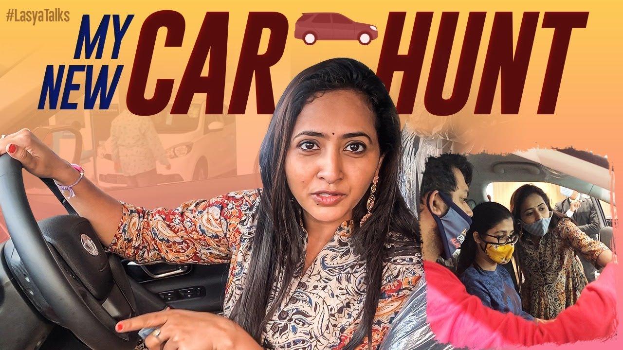 My New Car Hunt | Car Review | Test Drive | Lasya Manjunath | Lasya Talks Latest Vlog