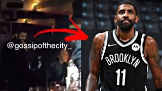 KYRIE IRVING SPOTTED AT A PARTY WITH NO MASKS! NETS ABSENCE EXPLAINED!