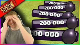 I SWEAR I JUST LOST 200,000 DARK ELIXIR.... ▶️ Clash of Clans ◀️ ...CRAZY, RIGHT?!?