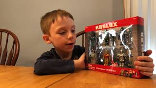 Unboxing Champions of Roblox