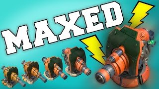 Boom Beach | FINAL Boom Cannon MAX! GRENADIERS vs Gearheart!