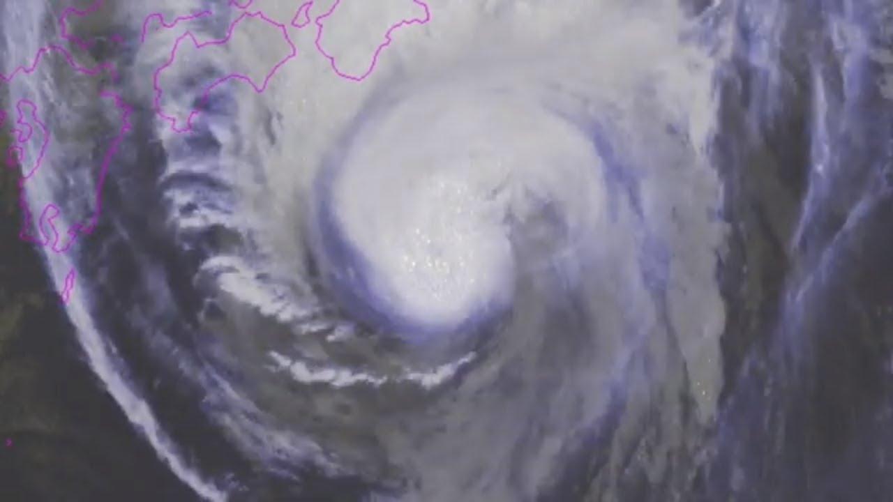 Typhoon Hagibis Approaches Japan - 9 AM JST Update