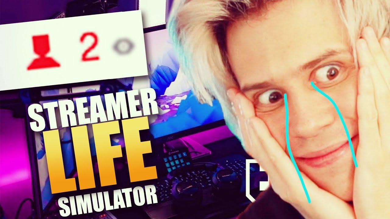 MI PRIMER STREAM ES UN FRACASO | Streamer Life Simulator