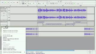Audacity (6/9) - Ajouter une piste, édition et montage général multipiste