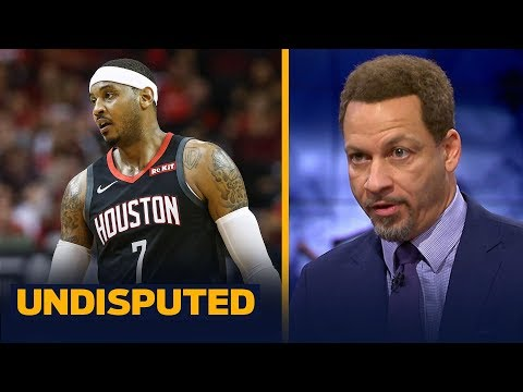 Chris Broussard says the Lakers shouldnt sign Carmelo Anthony | NBA | UNDISPUTED