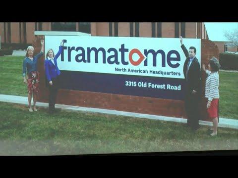 Framatome Announces Plan To Move Headquarters To Lynchburg
