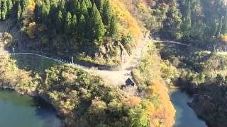 竹田川上流の龍ヶ鼻ダムです。 phantom2 gopro hero3+ 1080 M.