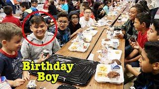 DAMIAN'S SCHOOL BIRTHDAY | 11 YRS OLD | D&D SQUAD