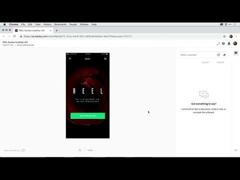 Adobe XD Release March 2019: Hide navigation controls for improved usability testing