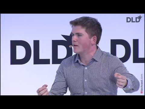 The Future Of Global Entrepreneurship (John Collison, Stripe &  Ravi Mattu, Financial Times) I DLD17