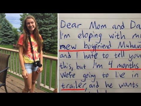 Отец нашел прощальное письмо дочери. Последние слова поразили его