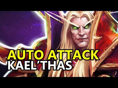 ♥ Kael'Thas Auto Attack Combo Build??? - Heroes of the Storm (HotS Gameplay)