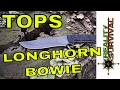 The NEW Tops Longhorn Bowie Survival Knife - Field Review