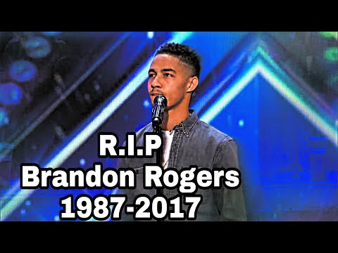 True Talent Gone Too Soon - Brandon Rogers America's Got Talent