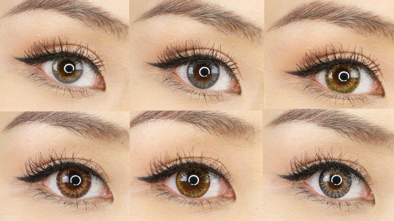 Natural Looking Contact Lenses for Brown Eyes