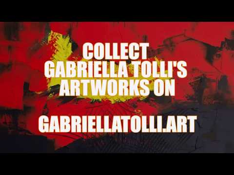 ABSTRACT ART PAINTINGS FOR SALE: Gabriella Tolli