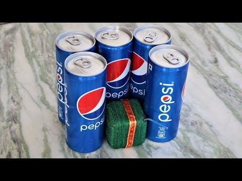 VIP Sutli VS 5 Pepsi Cans | Awesome Experiment By- Blade XYZ |