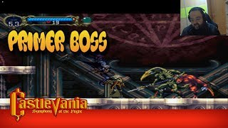CASTLEVANIA SYMPHONY OF THE NIGHT#2 MARBLE GALERY Y PRIMER BOSS