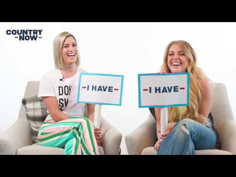 Cassadee Pope And Lindsay Ell Play Never Have I Ever