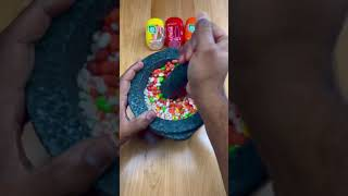 Satisfying Crushing of Three Different Kinds of TicTac #shorts
