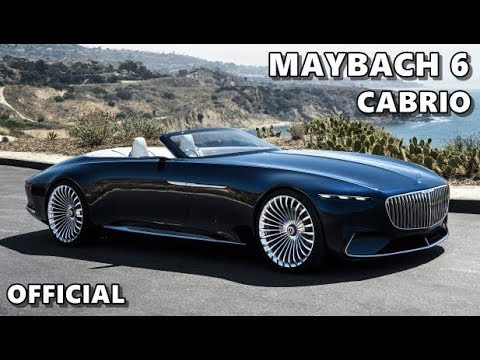 Vision Mercedes-Maybach 6 Cabriolet OFFICIAL Trailer