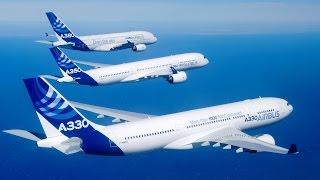 Крылья Европы - семейство самолетов Airbus