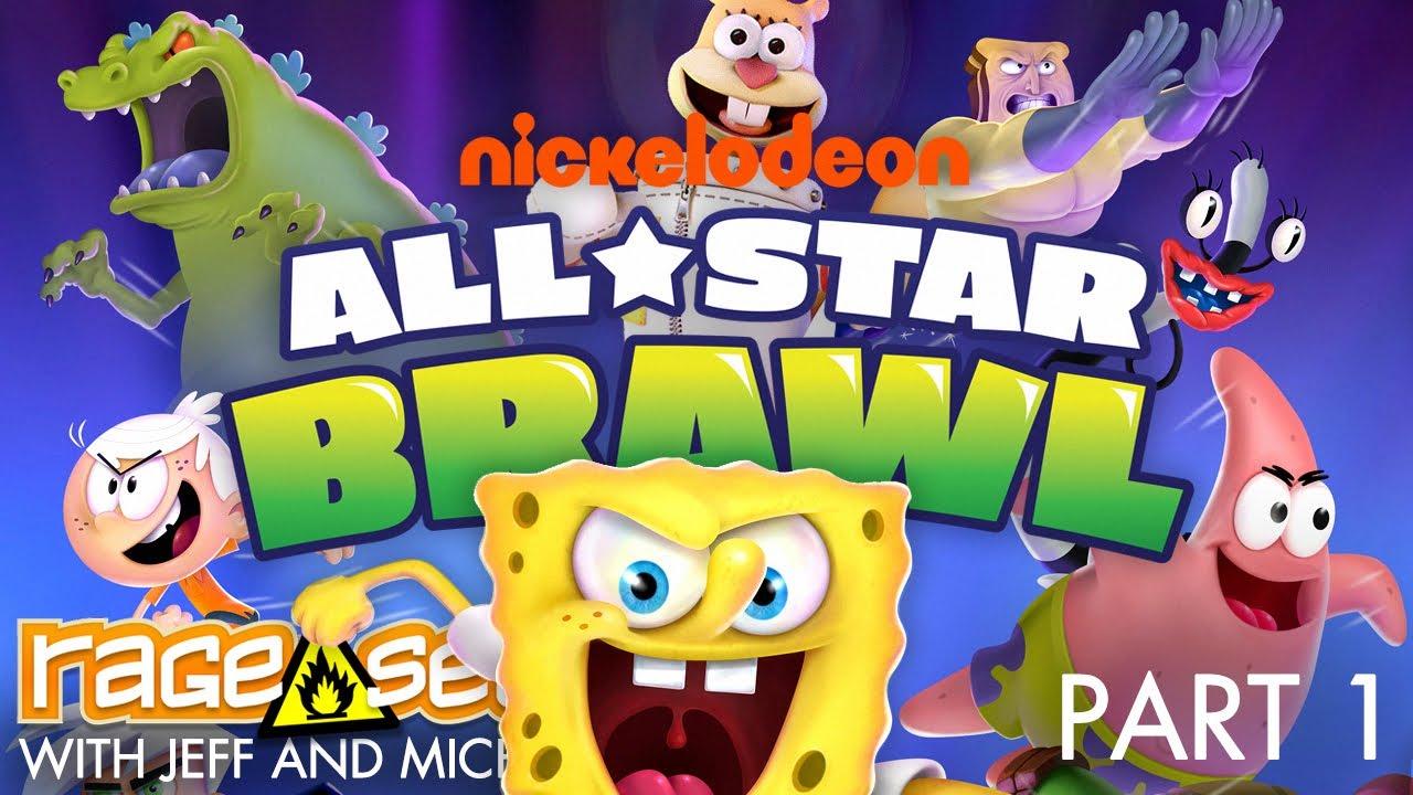 Nickelodeon All-Star Brawl (The Dojo) Let's Play - Part 1