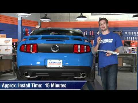 Mustang Third Brake Light Decal (10-14) Review