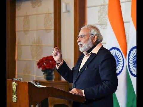 PM Narendra Modi addresses 22nd National Youth Festival 2018 via Video Conference