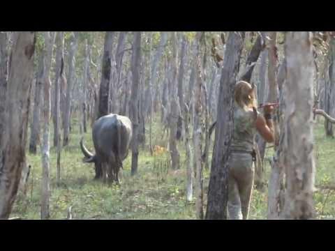 Spear Hunting Water Buffalo In Australia Part 1