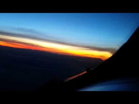 Sunrise over Nevada desert