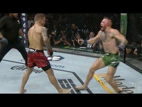 Бой Конор Макгрегор vs Дастин Порье. Полный бой