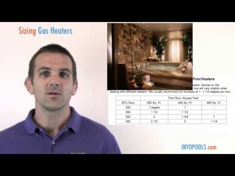 How To: Size a Gas Heater for Your Swimming Pool
