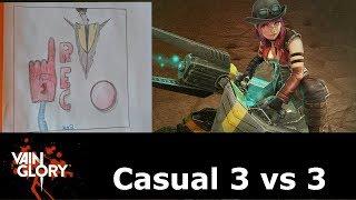 Joule casual 3 vs 3 arma | vainglory SA | gameplay español