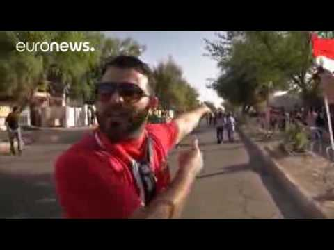 Iraq  Baghdad Green Zone protests turn violent as security forces open fire