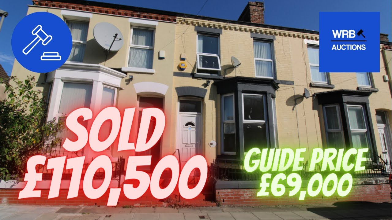 For Sale by Auction 30th September 40 Ling Street L7 2QF - WRB Auctions