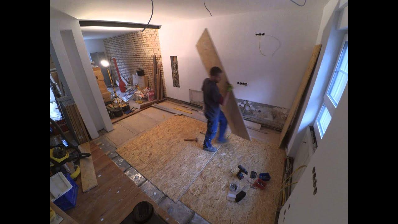 Fußboden Verlegen Mit Osb ~ Osb platten auf teppich verlegen laufbelag bau herz