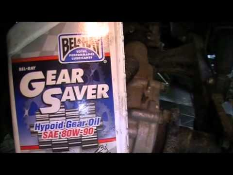 Check Change Atv Rear Differential Oil Youtube