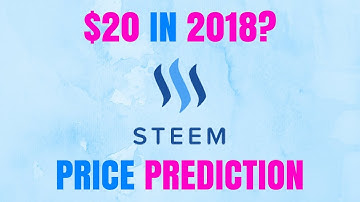 STEEM CRYPTOCURRENCY PRICE PREDICTION 2018 - STEEM CRYPTO REVIEW