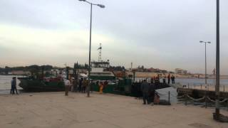 قناة السويس الجديدة مصر:عبد الحليم حافظ وجمال عبد الناصرعلى معدية القناة