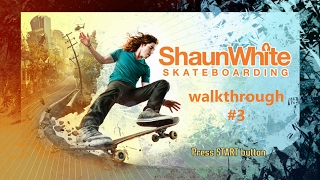 Shaun White skateboarding walkthrough Two: Crazy transformations and meeting new people