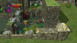 LEGO Harry Potter Years 1-4 - Gringotts Vault - Bonus Level #4 - Gold Brick #194