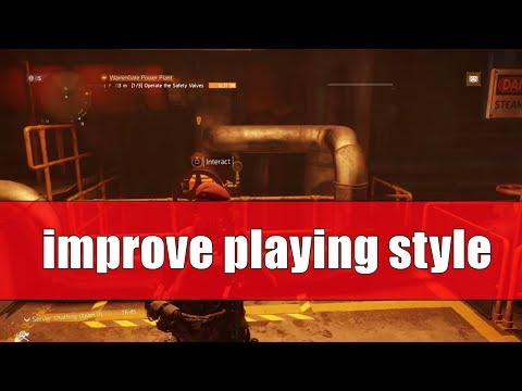 HOW TO IMPROVE YOUR PLAYING STYLE / SKILL POWER / TURRETS /WARRENGATE LEGENDARY / 1.8 THE DIVISION
