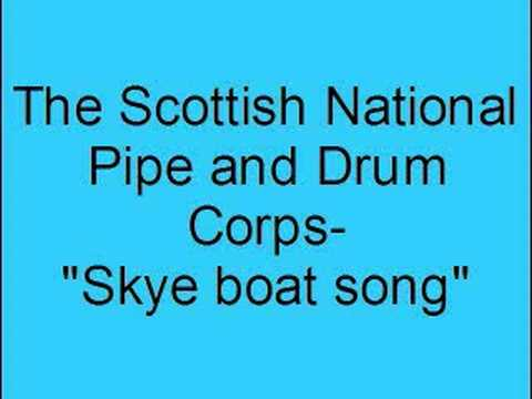 The Scottish national pipe and drum corps- Skye boat song