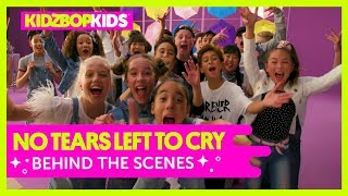 KIDZ BOP Kids - No Tears Left To Cry  (Behind The Scenes Official Video) [KIDZ BOP 38]