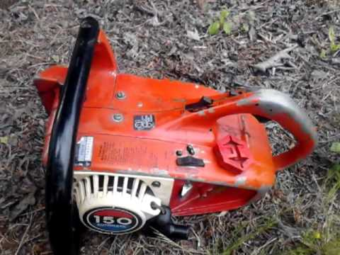 Homelite chainsaw Owners Manual 150